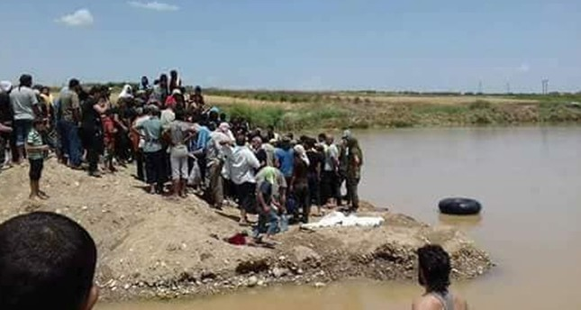 فلسطيني لجأ من دمشق إلى عفرين وتوفي غرقاً في نهر هناك أثناء محاولته إنقاذ شاب