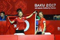 Turkey won four gold, two silver and four bronze medals at the Islamic Solidarity Games in Azerbaijan's capital Baku on Saturday.