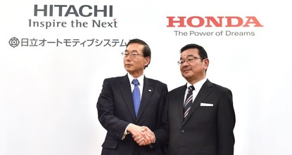 Japanese automaker Honda Motor Co. has signed a deal with Hitachi Automotive Systems to jointly develop, make and sell motors for electric vehicles, as the industry adapts to concerns over global...