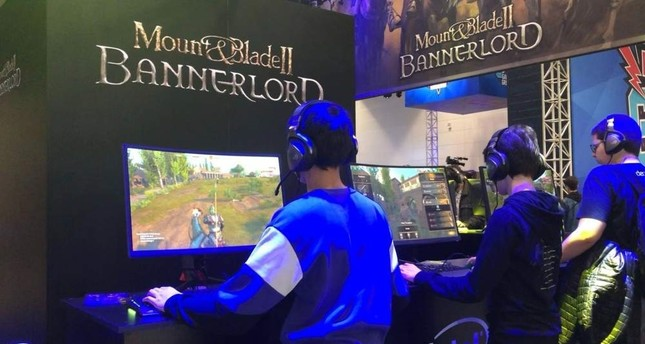 Lucky gamers got to test out the highly-anticipated Turkish game Mount & Blade II: Bannerlord before its release in March. Photo by Emre Ba?aran