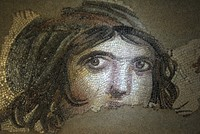 "Initiative to return missing pieces from ""Gypsy Girl"" mosaic in Turkey's Gaziantep"