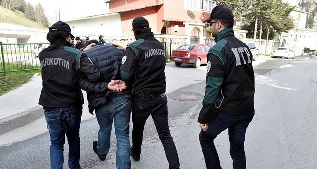 Over 215,000 drug suspects captured in 2018 in Turkey