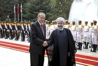 Turkey, Iran express common stance on Syria, Iraq developments as Erdoğan, Rouhani meet