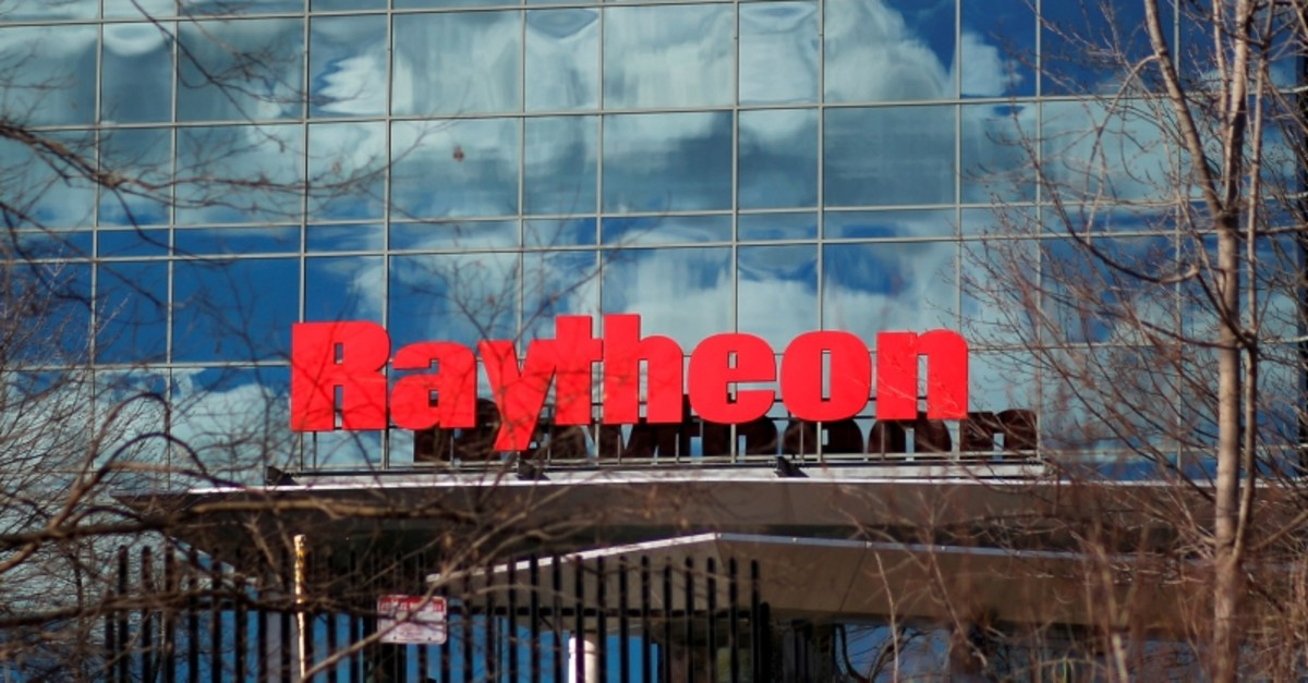 A sign marks the Raytheon offices in Woburn, Massachusetts, U.S. Jan. 25, 2017. (Reuters Photo)
