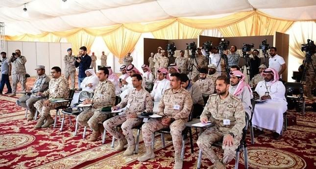 السعودية تكرم قوة عسكرية قطرية مشاركة بـدرع الجزيرة
