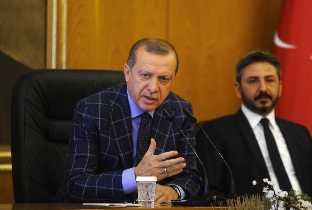 President Erdou011fan held a press conference before leaving for Pakistan where he will participate in the 13th Economic Cooperation Organization Summit.