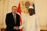 'Our kids won't be educated by terrorists anymore,' Chad's Déby says during first presidential visit by Erdoğan