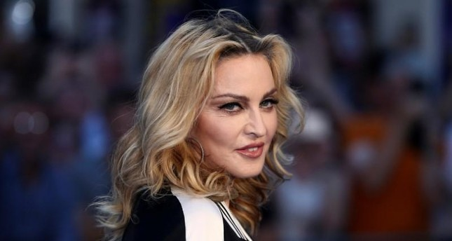 U.S. singer Madonna attends the world premiere of 'The Beatles: Eight Days a Week - The Touring Years' in London, Britain September 15, 2016. (Reuters Photo)