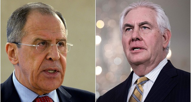 Russian FM Lavrov, US Secretary of State Tillerson discuss US strike on Syria in phone call