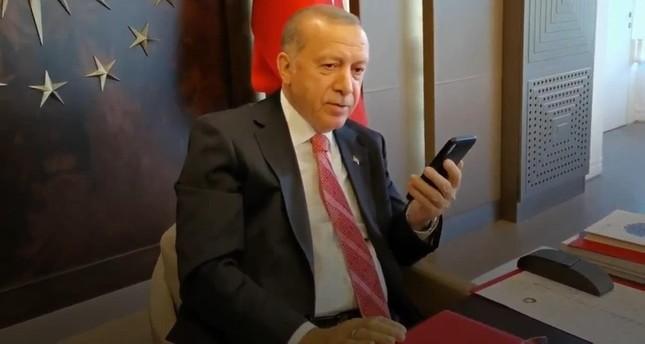 الرئيس أردوغان يهنئ روحاني وتبون وسعيد بعيد الأضحى