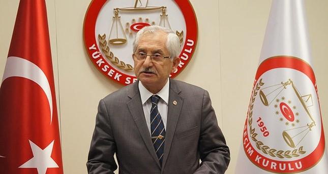رئيس اللجنة العليا لللانتخابات في تركيا سعدي غوفن
