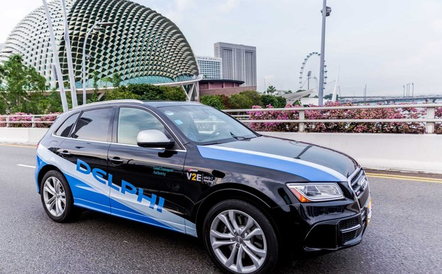Driverless cars on Singapore roads in 2018