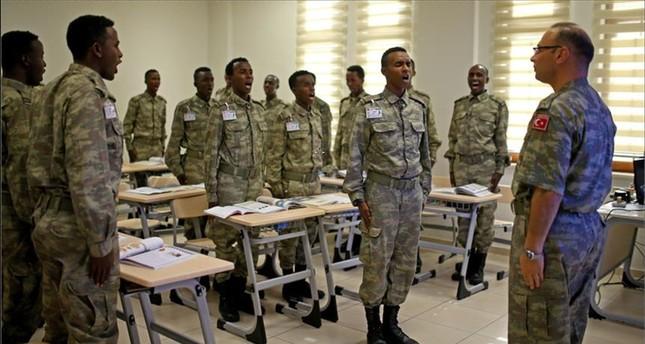 الجيش التركي ينهي تدريبات الكتيبة الأولى من الجيش الصومالي