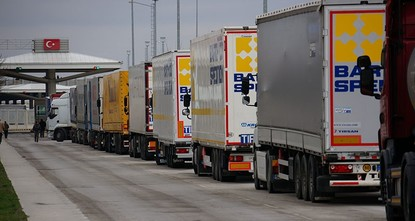 pThe European Union's highest court on Thursday ruled that Turkish trucks transporting goods in EU member states did not have to pay tax./p  pThursday's decision from the Court of Justice came...