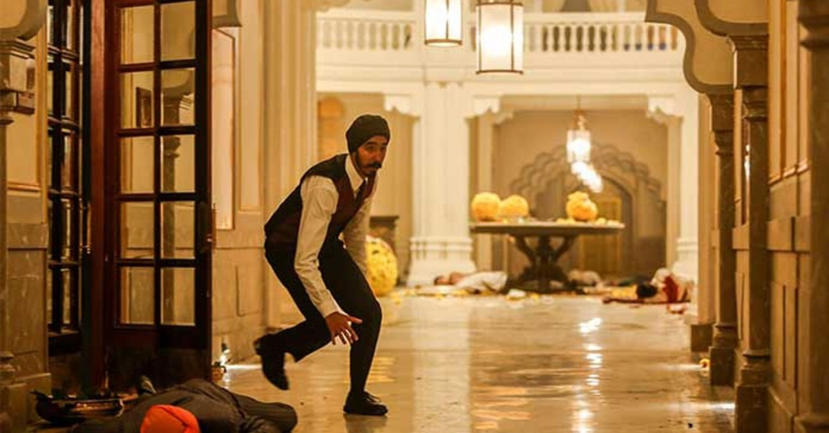 Dev Patel in the role of an employee in the Taj Mahal Palace Hotel where the terrorist attack happened.
