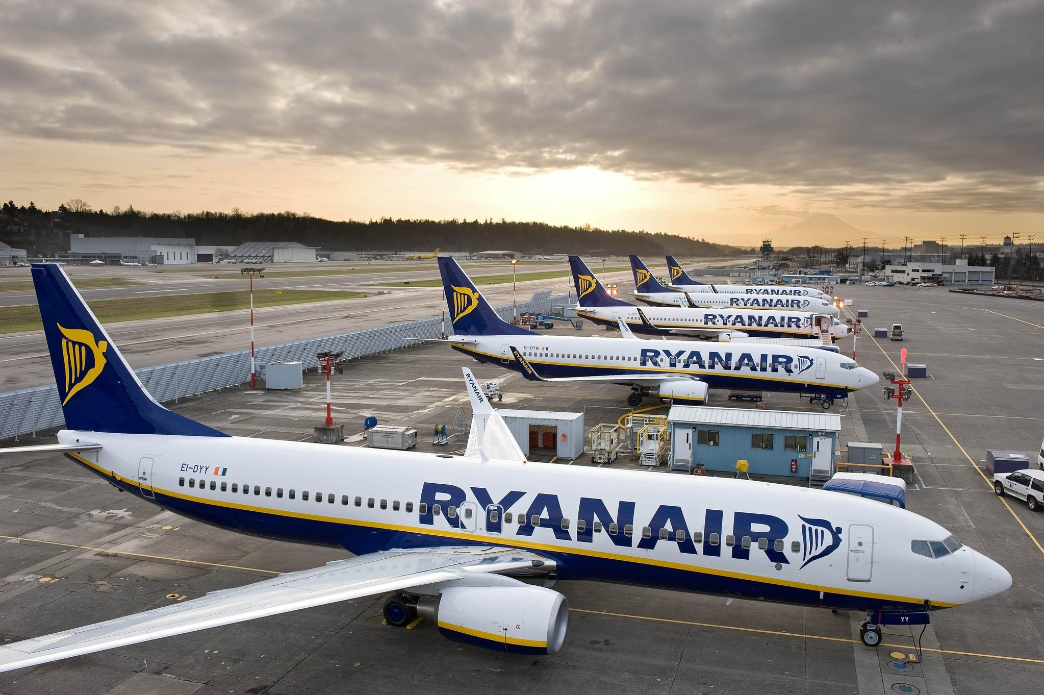 Strike action at embattled Ryanair intensified on Dec. 12, 2017, with German pilots the latest to plan possible walkouts over conditions, following similar moves by staff based around Europe. (AFP Photo)