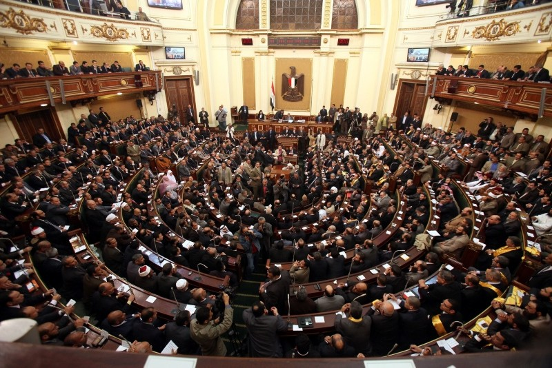 A file photo of the Egyptian Parliament