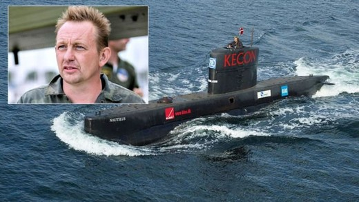 Photo shows Danish submarine owner and inventor Peter Madsen. (EPA Photo)