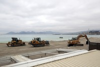 Life's a beach: Cannes ships in sand for film festival