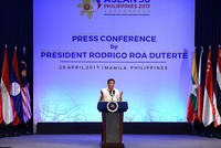 Turkey, Mongolia should join ASEAN, Philippines President Duterte says