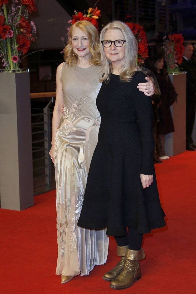 Director Sally Potter (R), actress Patricia Clarkson appeared at premiere of u201cThe Partyu201d during the 67th annual Berlin Film Festival, in Berlin on Monday. The movie is presented in the Official Competition at the Berlinale that runs until Feb. 19.
