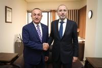 بعد لقائه نظيره الأردني.. تشاوش أوغلو يعد بتعزيز التعاون التركي مع الأردن