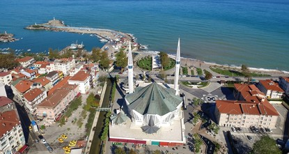 Octagonal mosque built like Turkish tent attracts attention