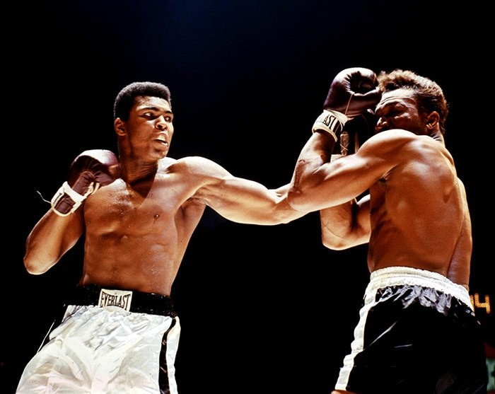 King of Boxing Muhammad Ali celebrates 73rd birthday