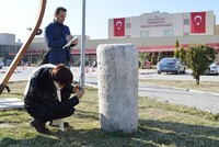 A piece of marble used as a table in a hospital in Turgutlu, a small town in Turkey's western province of Manisa, has turned out to be part of a historical column from the Roman era.  The...