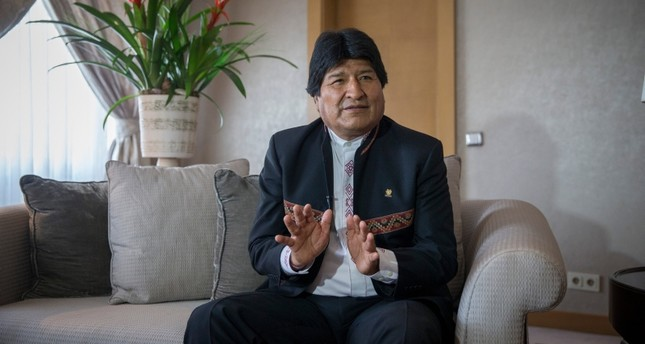 Bolivia, Turkey eye stronger economic, diplomatic ties in new period ahead, Morales says