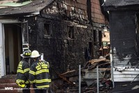 Investigators are scouring for clues about what sparked a deadly, fast-moving house fire that killed five people, including three children, on a sunny spring afternoon.  The fire broke out Sunday...