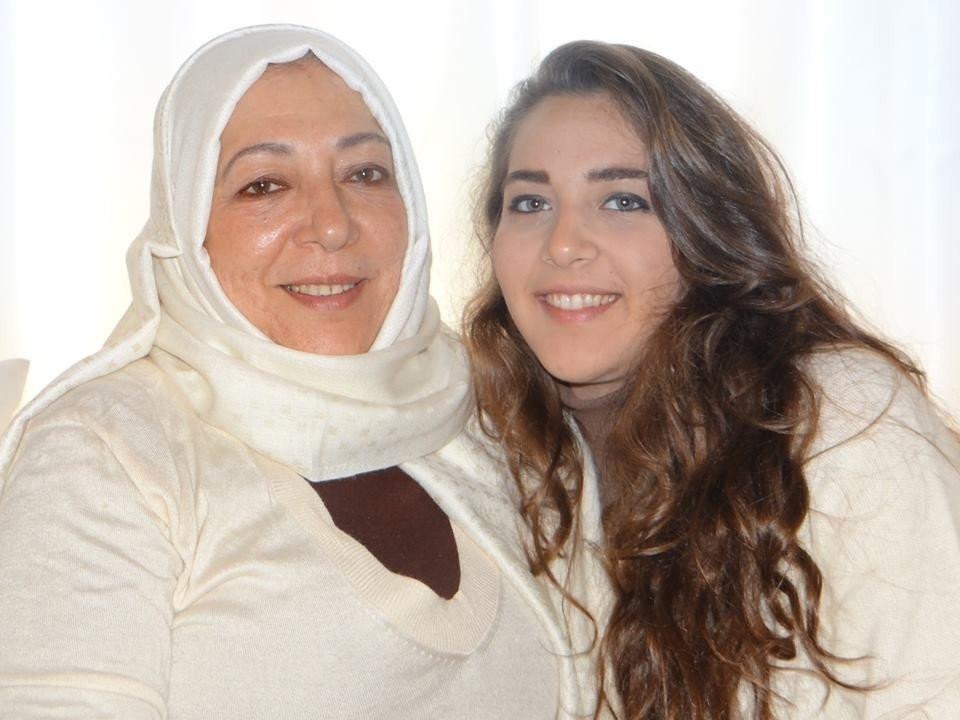 Orouba Barakat, 60, and her 22-year-old daughter Halla (Facebook)