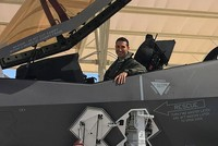 Turkish fighter pilot carries out first flight in US with F-35 jet