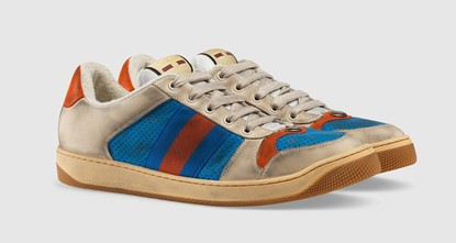 Gucci draws groans with $870 'dirty' sneakers