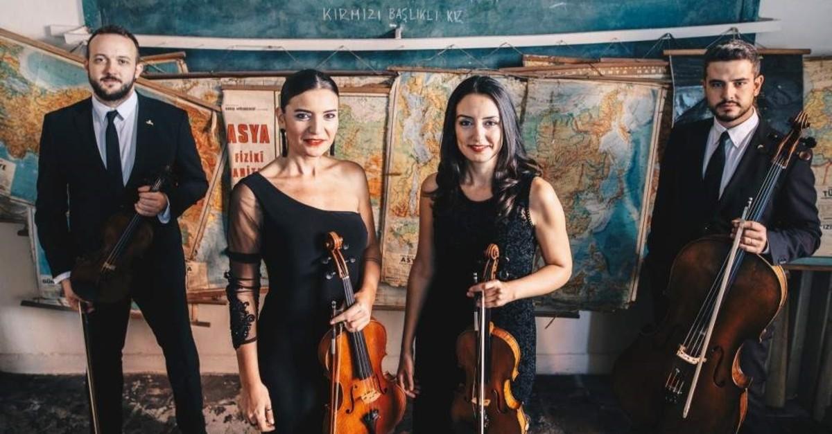 The Semplice Quartet will perform at Yap? Kredi bomontiada on Dec. 24.