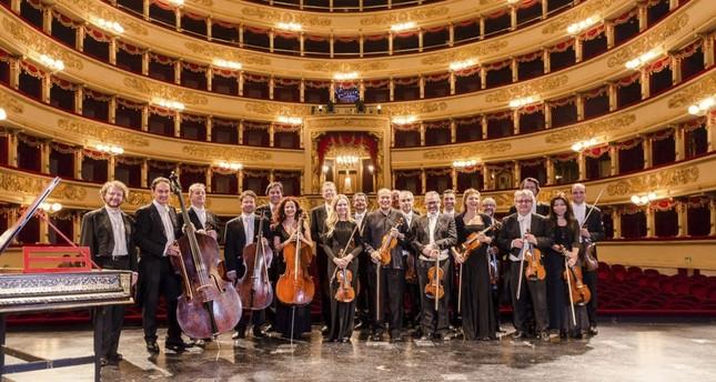 Cameristi Della Scala on stage with Turkish conductor