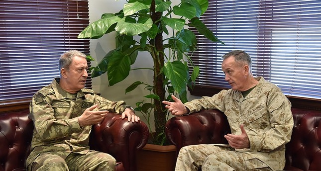 Gen. Akar, US counterpart discuss Turkey's al-Bab operation