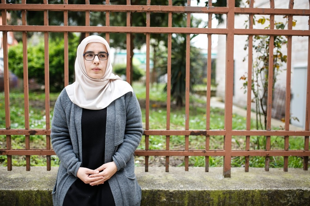 Hijazi shared a  damp,  bug-filled 6 square-meter cell with seven women for 30 days. She was tortured every day, electroshocked, stripped naked and abused.