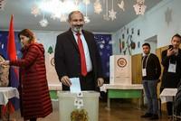 Armenia PM's bloc wins decisive majority in snap polls