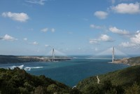 The Yavuz Sultan Selim Bridge, Istanbul's newly built third bridge to link the city's European and Asian sides, is giving a boost to real estate market prices along its route, according to data...