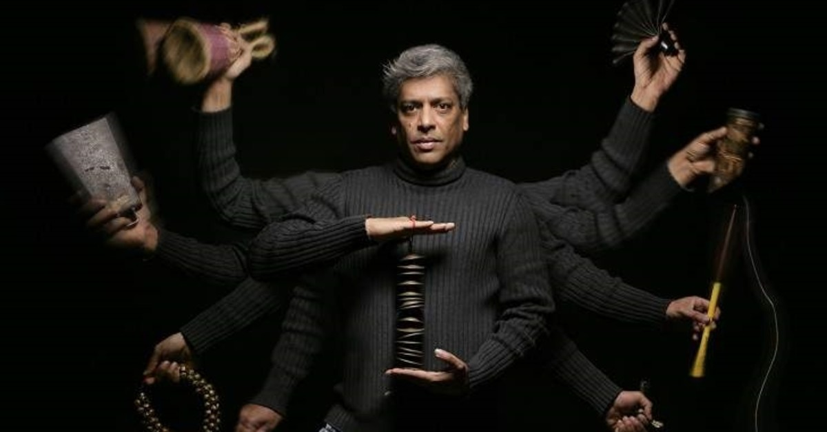 Percussionist Trilok Gurtu is known as the rhythm master in the jazz world.