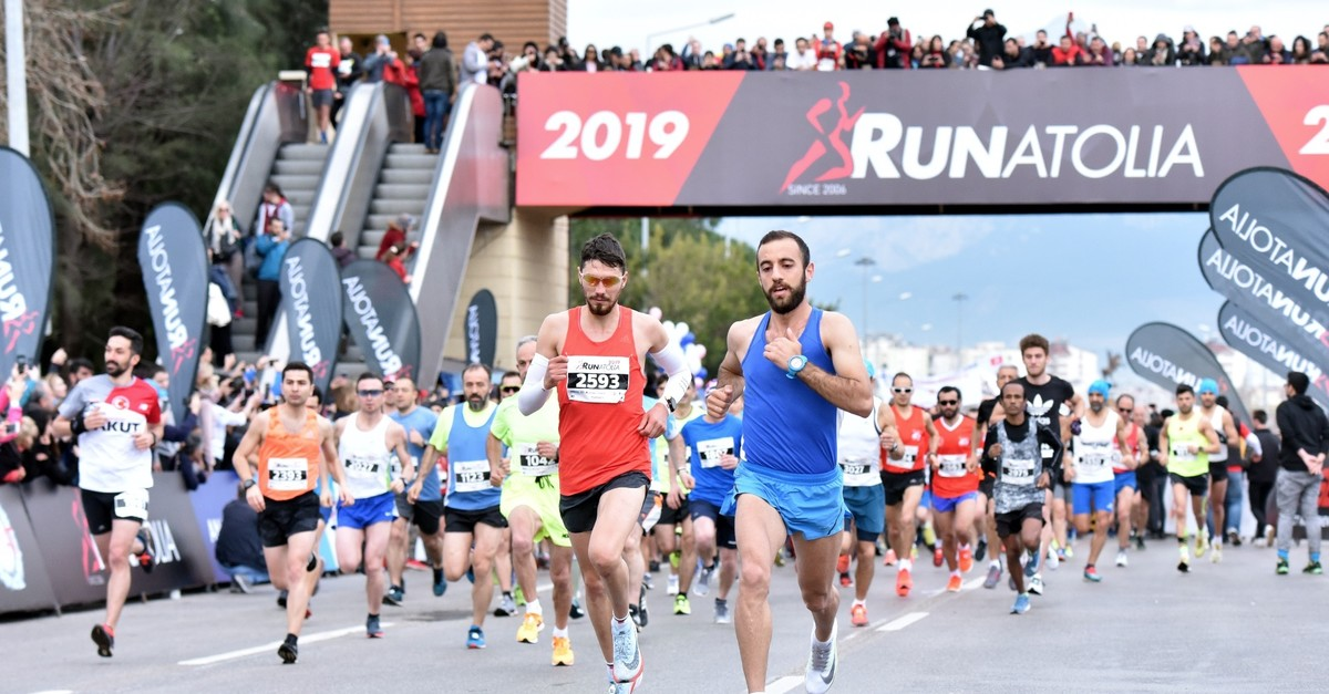 Some 10,000 runners from 49 countries took part in the marathon.
