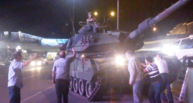 Tanks under the command of FETÖ members wreaked havoc in Ankara and Istanbul on July 15, 2016.