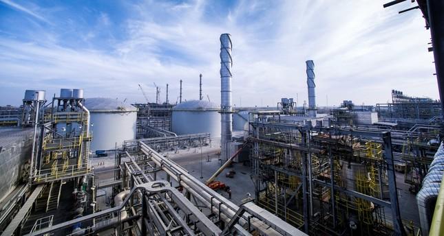 A view shows Saudi Aramco's Wasit Gas Plant, Saudi Arabia, Dec. 8, 2014.