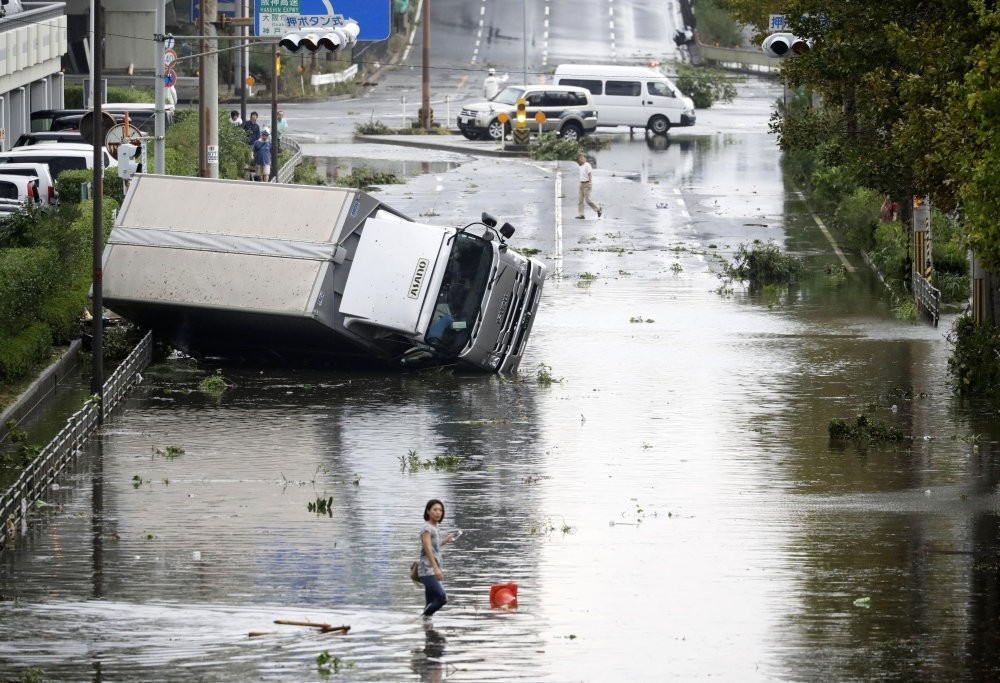 The flood which was the most powerful that the country has seen in years hit most parts of Japan early September, 2018.