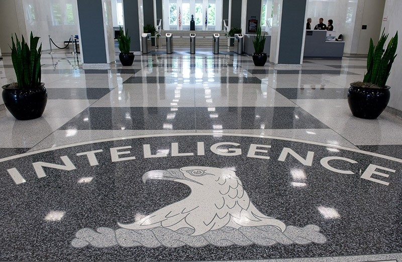 The seal of the Central Intelligence Agency (CIA) in the lobby of CIA Headquarters in Langley, Virginia. (AFP File Photo)