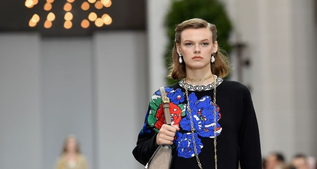 Tory Burch said she was inspired by late Princess of Wales' style.
