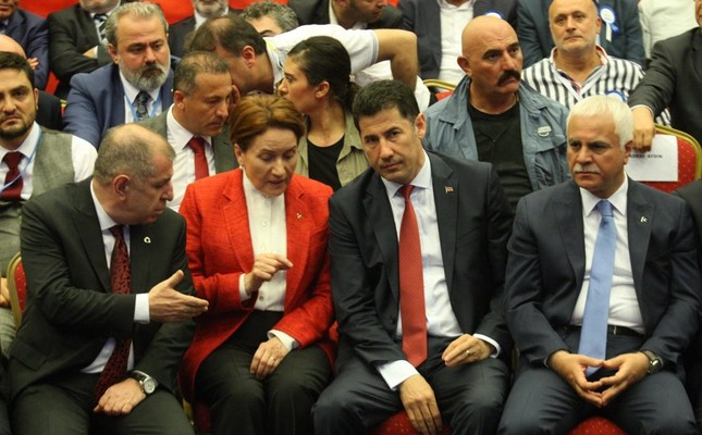 MHP dissidents from left to right: Ümit Özdağ, Meral Akşener, Sinan Oğan, Koray Aydın. Chairman Bahçeli is readying to expel the aforementioned dissidents.