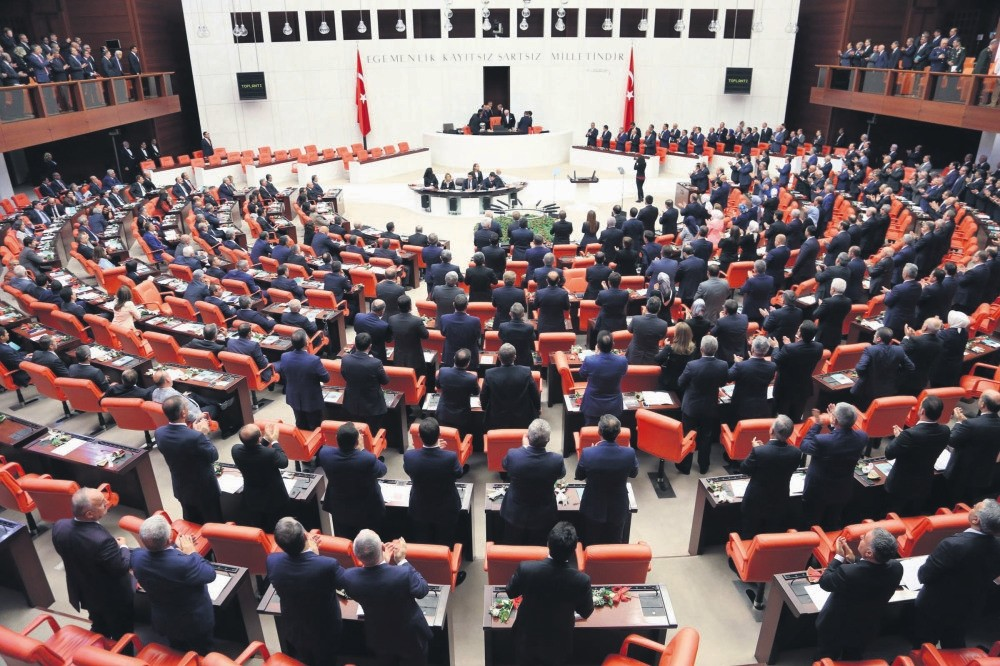 The Grand National Assembly of Turkey.