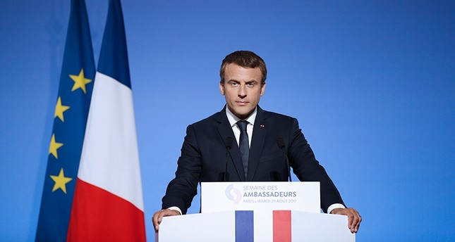 France's Macron initiates new Syria contact group at UN
